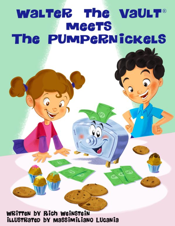 Walter The Vault Meets the Pumpernickels Book Cover